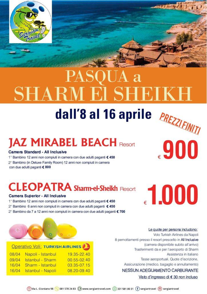 Pasqua Sharm 8-16 aprile Bluewings